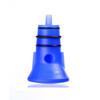 Lifeventure Travel Bottle - Ducha portátil - azul/blanco